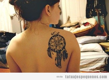 Ideas tatuajes pequeños chica, atrapasueños