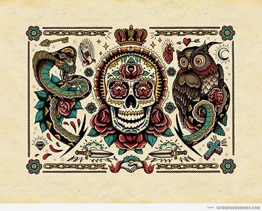 Libro colorear tatuajes, comprar online