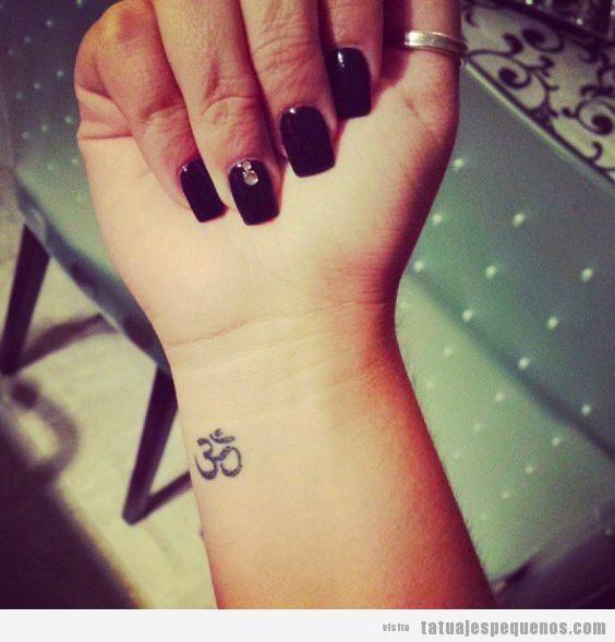 Tatuajes Pequenos Para Practicantes De Yoga Om Flor De Loto Y