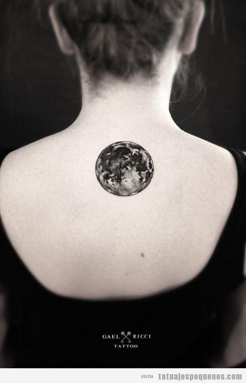 Tatuajes Pequeños De Luna Llena Para Hombre Y Mujer Superluna