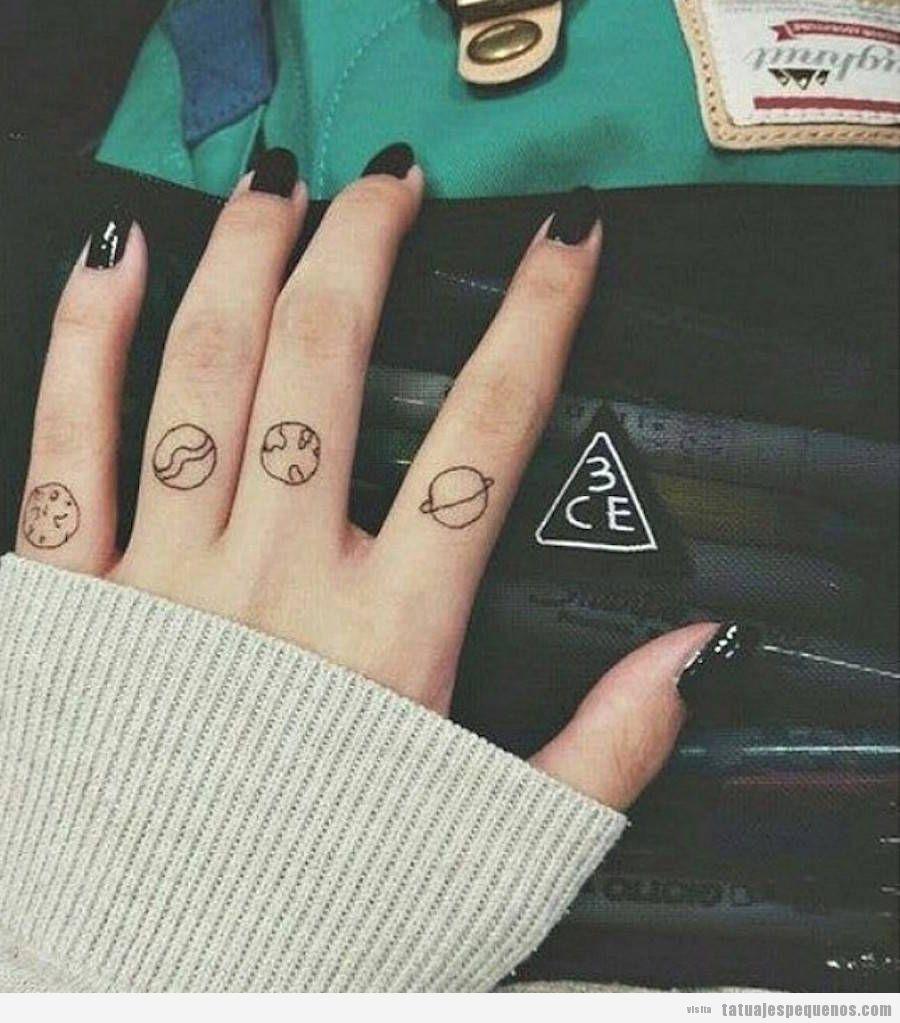 Anclas De Tatuajes Para Mujer tatuajes pequeños en los dedos de la mano: + 40 diseños con