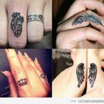 Tatuajes pequeños en los DEDOS de la mano: + 40 diseños con mucho significado