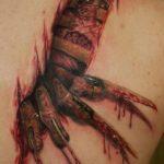 """Tatuajes pequeños y espeluznantes o """"creepies"""""""