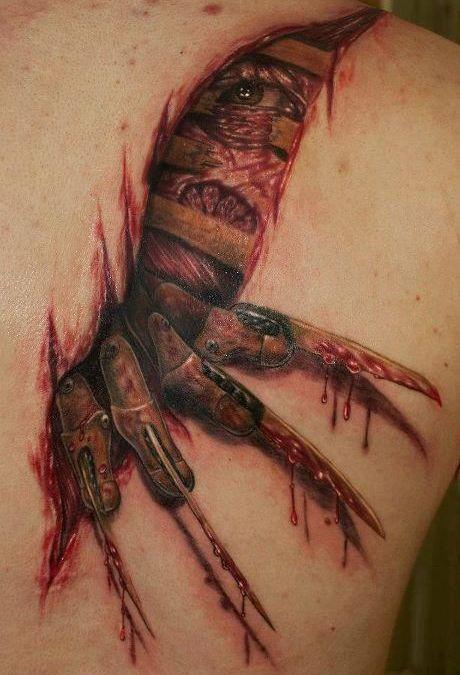 Tatuajes pequeños y espeluznantes o «creepies»