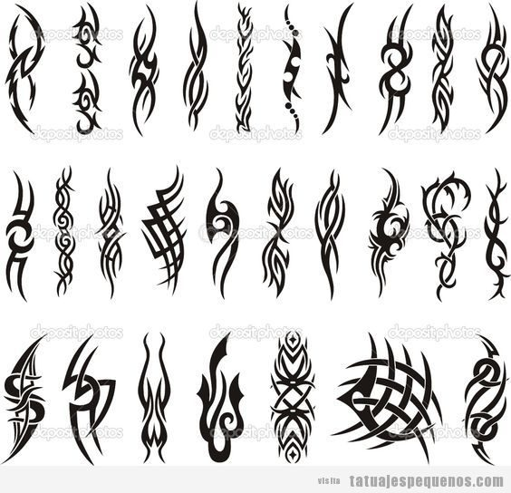 Plantillas Para Tatuajes Tatuajes Pequeños