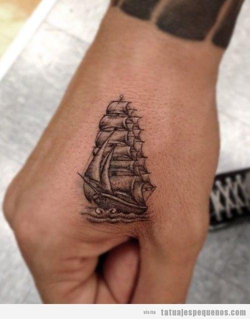 Tatuajes pequeños para hombres en la mano 2