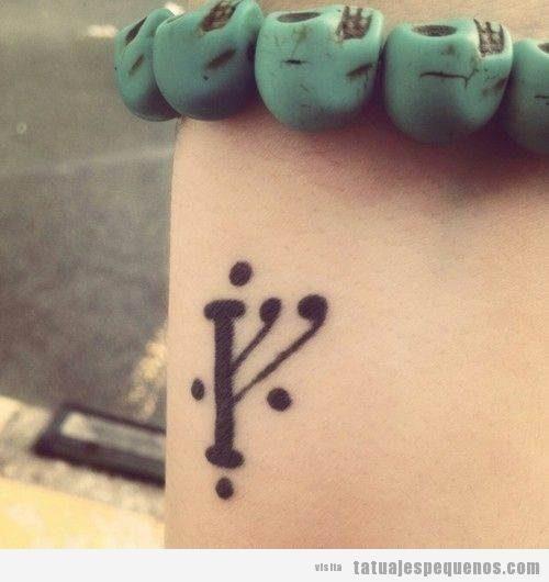 Tatuajes pequeños con significado: símbolos y palabras con grandes mensajes