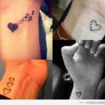 Tatuajes pequeños de corazones, más de 25 diseños llenos de AMOR