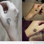 Tatuajes pequeños en las manos: + 35 diseños para mujer y hombre