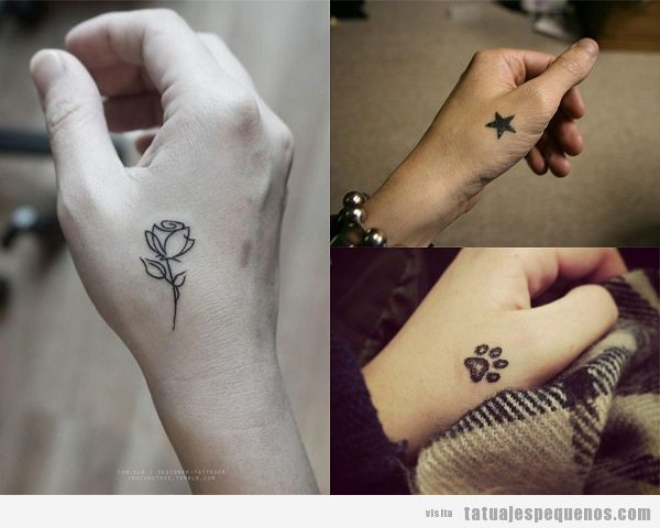 Tatuajes Pequenos En Las Manos 35 Disenos Para Mujer Y Hombre