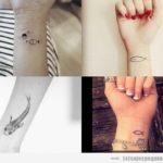 Tatuajes pequeños en la muñeca para mujeres: 80 diseños que te enamorarán