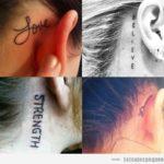 Tatuajes pequeños de palabras: diseños que dicen mucho de ti en pocas letras