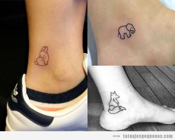 30 tatuajes pequeños y bonitos en el tobillo, ¡seguro que querrás llevar uno!