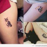 Tatuajes pequeños de gatos: + 30 diseños que plasman el amor por estos felinos