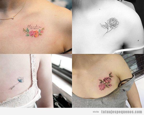 Tatuajes Pequeños En El Pecho Para Mujer 40 Diseños Sensuales Y