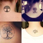 Tatuajes pequeños del árbol de la vida