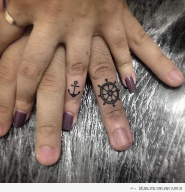 10 Tatuajes Pequenos Para Parejas Nunca Se Demostro Tanto Amor En