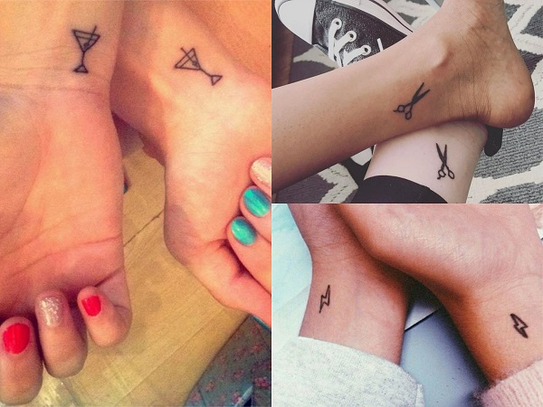 Tatuajes pequeños para amigas originales