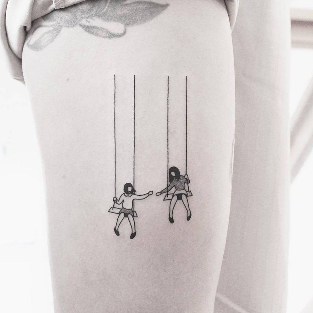 Tatuajes pequeños originales para mujer 18