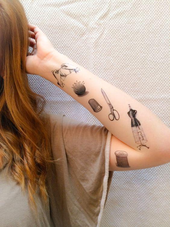 Tatuajes pequeños originales para mujer 3