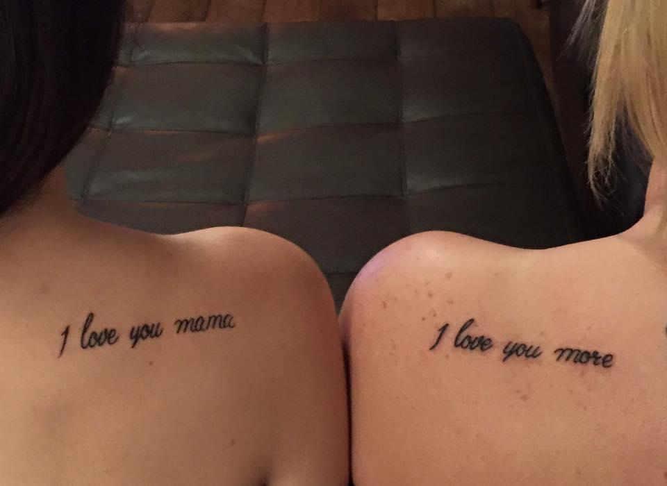 20 Tatuajes Pequenos Para Madres E Hijas Disenos Bonitos Llenos De