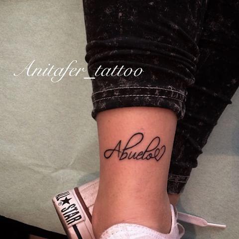 Tatuajes pequeños abuelos 2