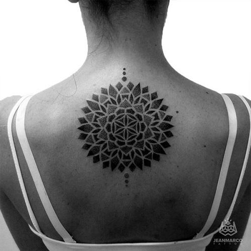 Dotwork: Los impresionantes tatuajes de Jeanmarco, el artista del puntillismo