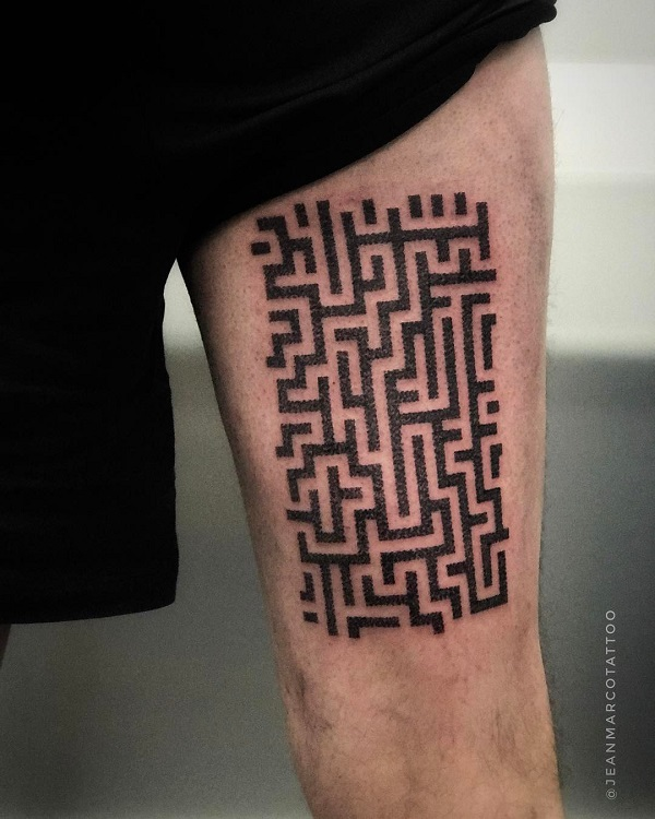 Tatuajes dotwork puntillismo Jeanmarco