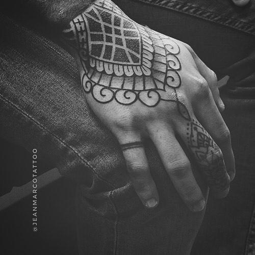 Tatuajes dotwork puntillismo Jeanmarco 5