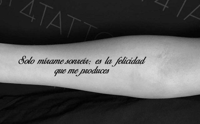 Tatuajes dedicatorias de amor 3