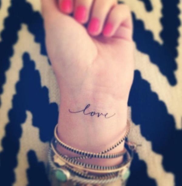 Los mejores tatuajes pequeños de amor