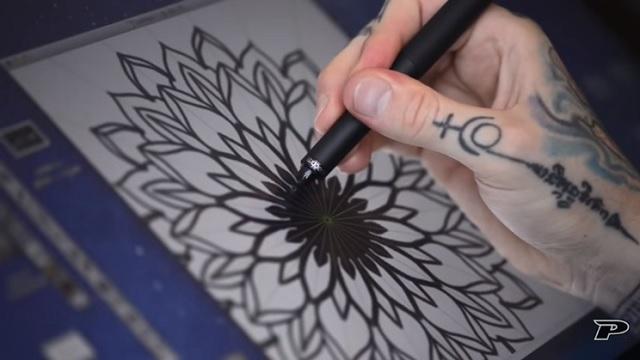 Diseñar tatuaje con tableta gráfica 2