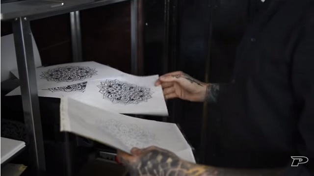 Diseñar tatuaje con tableta gráfica 4