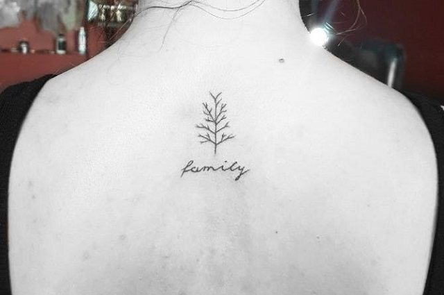Tatuajes pequeños familia 15