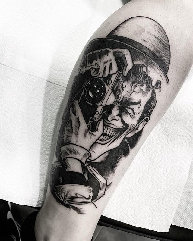 Tatuaje blackwork Fran Sánchez 3